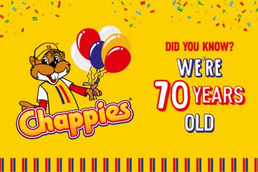 LAST CHANCE TO WIN WITH CHAPPIES FOR THEIR 70TH BDAY