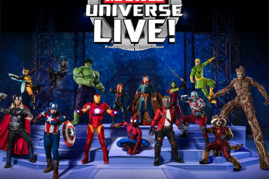 MARVEL UNIVERSE LIVE ADDS FOUR NEW SHOWS