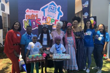 CLOVER NUTRIKIDS AND CHOC ON TRACK WITH SIXTH CLOVER NUTRIKIDS CHOC HOUSE