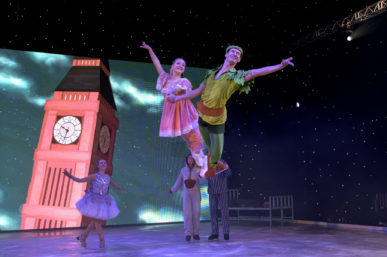 INTERNATIONAL DANCE SENSATION PRESENT PETER PAN ON ICE