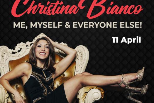 INTERNATIONALLY ACCLAIMED SINGER CHRISTINA BIANCO IN SA