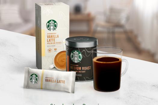 NESTLE & STARBUCKS LAUNCH INSTANT PREMIUM COFFEE
