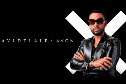 AVON PARTNERS WITH SUPER DESIGNER OWN DAVID TLALE