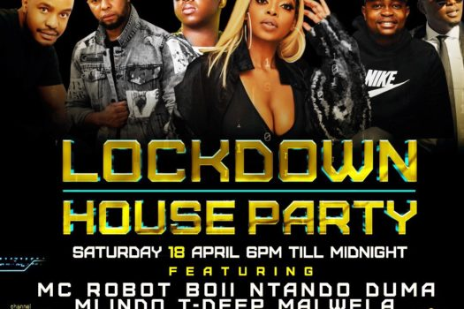 #LOCKDOWNHOUSEPARTY TO BRING THE HOUSE DOWN YET AGAIN