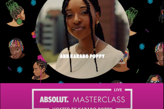 KARABO POPPY HOLDS THE FORT IN HOSTING THE ABSOLUT MASTERCLASS