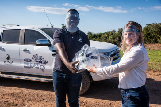 FORD DONATES FACE SHIELDS TO WILDLIFE FOUNDATION PROJECTS
