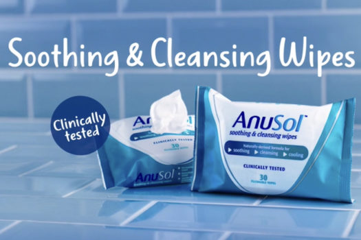 ANUSOL OFFERS EVEN MORE RELIEF WITH NEW FLUSHABLE WIPES