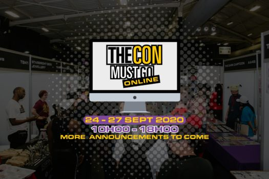 REGISTRATION NOW OPEN FOR COMIC CON AFRICA'S ONLINE CON