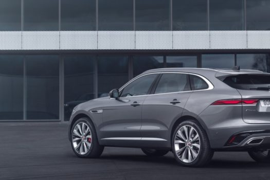 THE NEW JAGUAR F-PACE: LUXURIOUS, CONNECTED, ELECTRIFIED