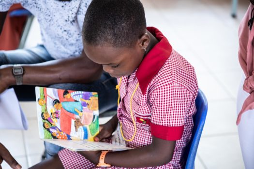 FORD & RALLY TO READ  SHARE STORY ON WORLD LITERACY DAY