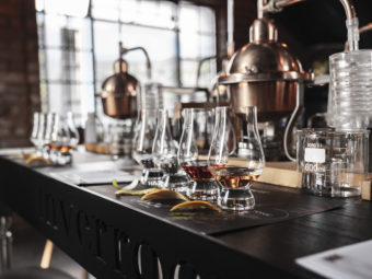 EXPERIENCING GIN DISTILLING WITH INVERROCHE