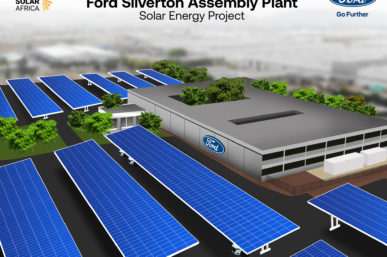 FORD SOUTH AFRICA EMBARKS ON RENEWABLE PROGRAMME