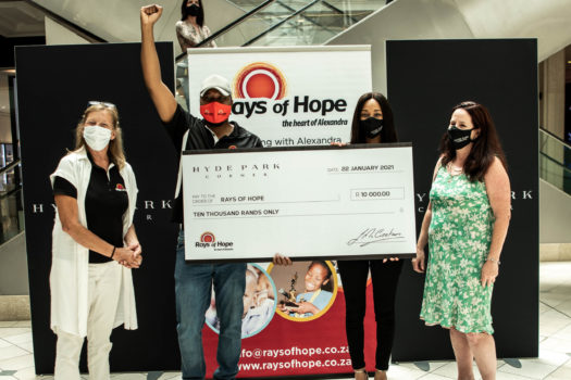 SHOPPERS GENEROSITY LEADS RAYS OF HOPE DONATION