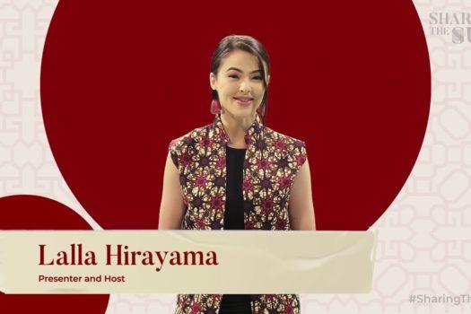 SHARING THE SUN ON YOUTUBE WITH LALLA HIRAYAMA
