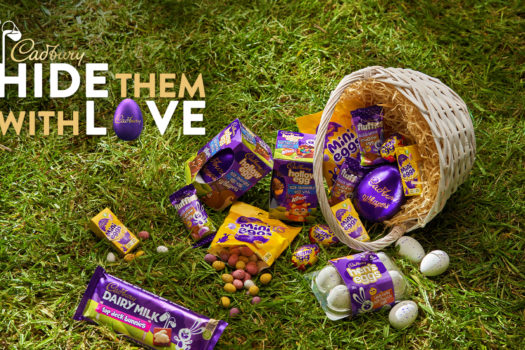 ENJOY AN EGGCITING NEW RANGE THIS EASTER WITH CADBURY