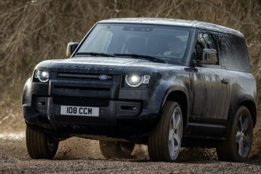 POWER OF CHOICE WITH POTENT NEW DEFENDER V8