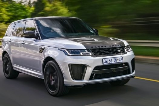 RANGE ROVER SPORT SVR CARBON EDITION WEAVES WAY INTO SA