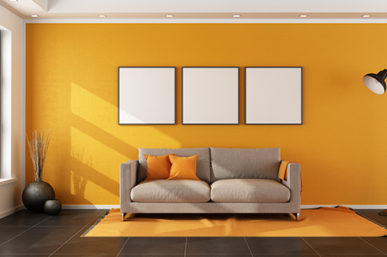 HOW TO CREATE A FEATURE WALL WITHOUT BREAKING A BANK