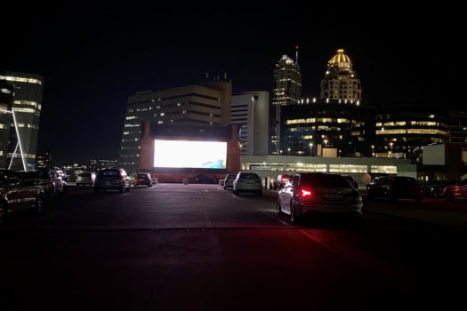 EXCITEMENT OVER SANDTON MALL'S  CITY DRIVE-IN