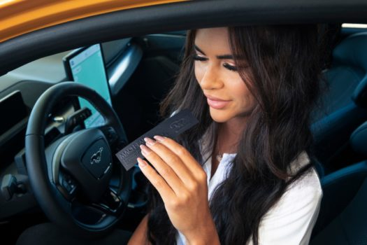 PETROL FANS LOOK FORWARD TO NEW FORD FRAGRANCE