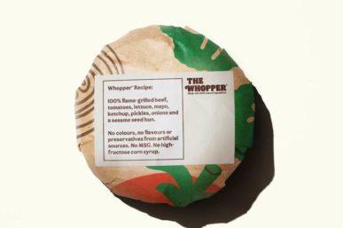 BURGER KING® SA LAUNCH 100% NATURAL, CLEAN WHOPPER®