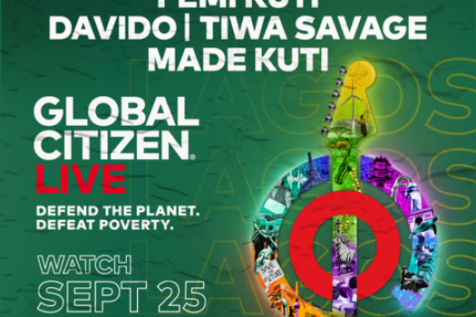 GLOBAL CITIZEN LIVE LINE-UPS REVEALED FOR LAGOS, PARIS & NYC EVENTS