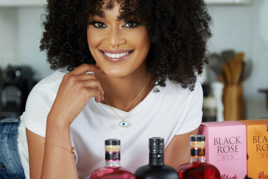 PEARL THUSI ACQUIRES EQUITY IN BLACK ROSE GIN!
