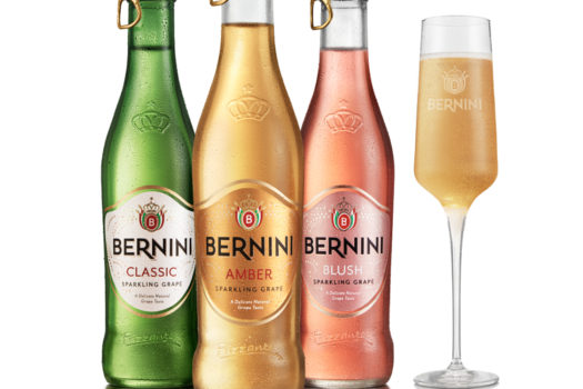 BERNINI DIALS UP THE GLOW WITH A STYLISH NEW LOOK & EASY OPENING CAP